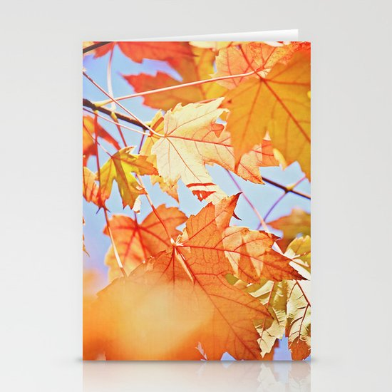 Fall Color Stationery Card