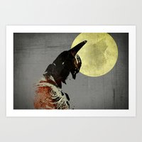 Dark Knight I Art Print