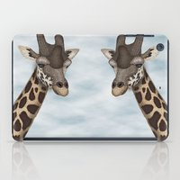 Giraffe Fun iPad Case