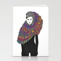 Fashion Illustration 2  Stationery Cards