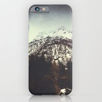 End of Winter in the mountains iPhone 6 Slim Case