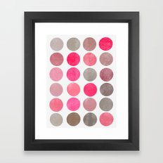 colorplay 4 Framed Art Print