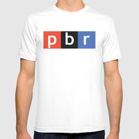 National Public Beer Mens Fitted Tee White SMALL