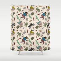 On The Freedom Experienc… Shower Curtain