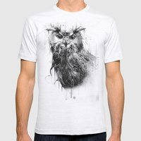DARK OWL Mens Fitted Tee Ash Grey SMALL