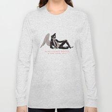 Sauntered Vaguely Downwards Long Sleeve T-shirt