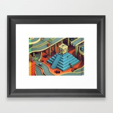 Culture Apparatus @ Exit 7 Framed Art Print