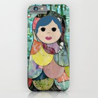 Matryoshka Nesting Dolls iPhone 6 Slim Case