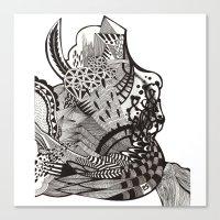 abstract vol 1 Canvas Print