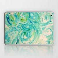 Marbling Twirl Laptop & iPad Skin