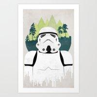 Stormtrooper Art Print