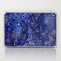 Night Sky Galaxy Stars | Watercolor Space Texture Laptop & iPad Skin