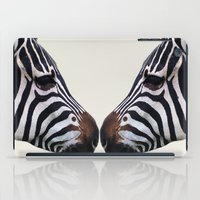 Zebra Love iPad Case