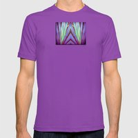 Fiesta Palm Mens Fitted Tee Ultraviolet SMALL