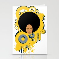 Love The 'Fro Stationery Cards