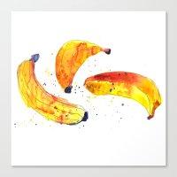 Bananers Canvas Print