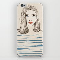 Sea girl iPhone & iPod Skin