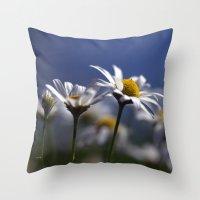 Daisies 3610 Throw Pillow