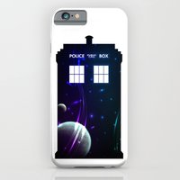 iPhone & iPod Case featuring Space in TARDIS by Colin Capurso