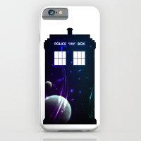 Space In TARDIS iPhone 6 Slim Case