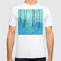 Bluebells, Challock Mens Fitted Tee Ash Grey SMALL
