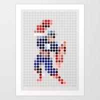 Mr A Art Print