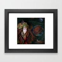 MOTHER EARTH STORY Framed Art Print