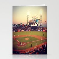 At&t Park Stationery Cards