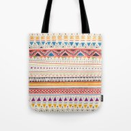 Tote Bag featuring Pattern by Sandra Dieckmann