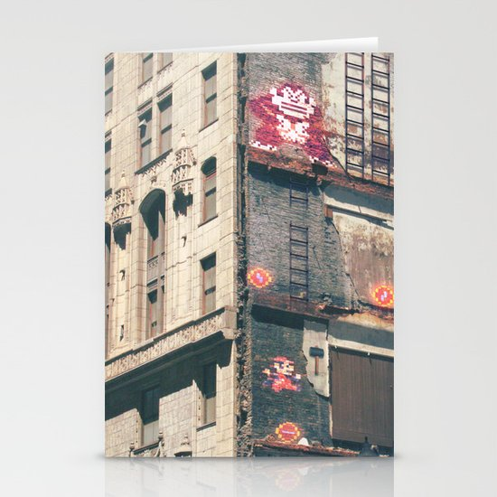 Building Kong Stationery Card