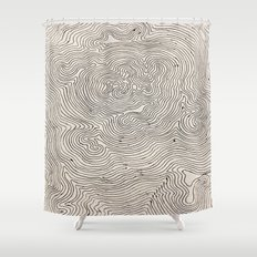 Impossible Journey Shower Curtain