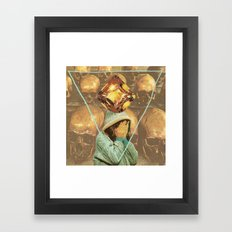 For Shame Framed Art Print