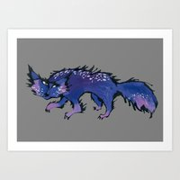 Stray Cat Art Print
