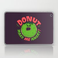 Donut Make Me Angry! Laptop & iPad Skin