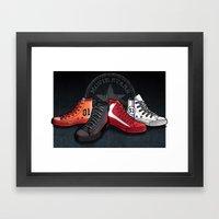 Movie Stars! Framed Art Print