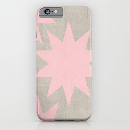 pink stars iPhone & iPod Case