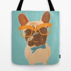 Dapper Frenchman Tote Bag