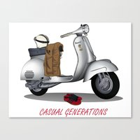 CASUAL GENERATION Canvas Print