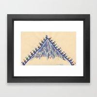 Pilgrimage, Distant Moun… Framed Art Print