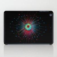 Neon Explosion iPad Case