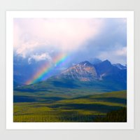 Hidden Rainbow Art Print