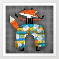 HAPPY PANTS Art Print