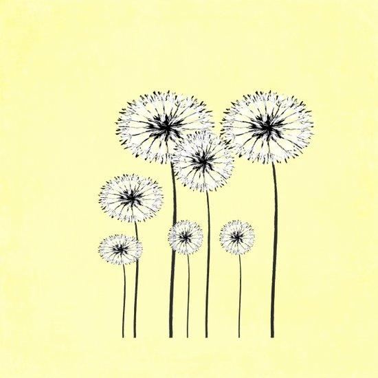 Dandelions Spring Print  Art Print
