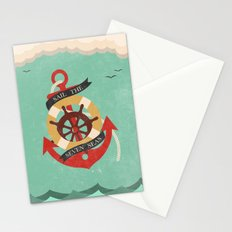 Sail The Seven Seas Stationery Cards