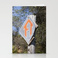 Florida Trail In Winter … Stationery Cards