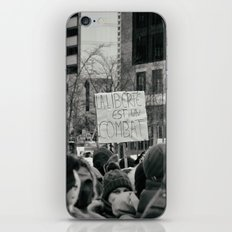 Freedom is a fight iPhone & iPod Skin