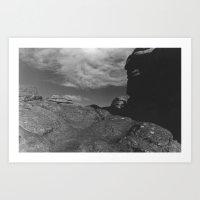 Pew Tor Dartmoor  Art Print