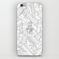 The Lego Movie — Colouring Book Version iPhone & iPod Skin