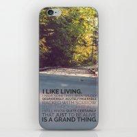 I like living - agatha christie iPhone & iPod Skin