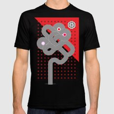 Identity Road Mens Fitted Tee Black SMALL